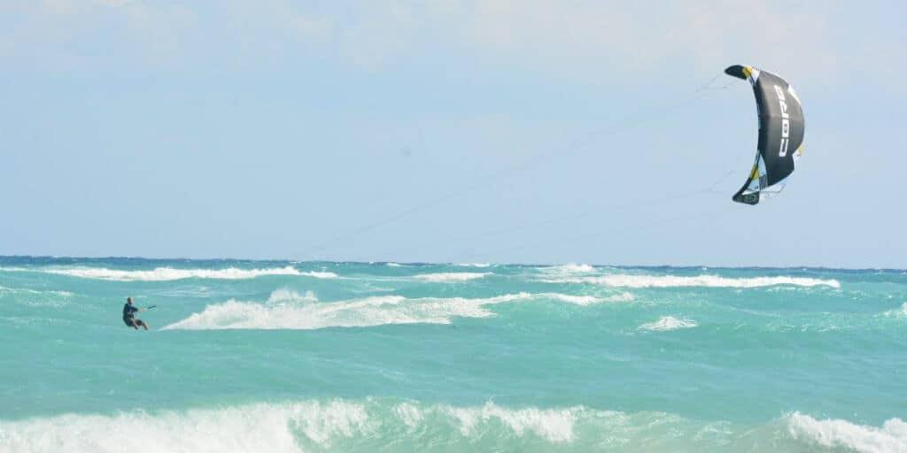 kitesurf tulum experience caribbean blue waters